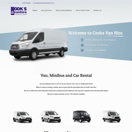 Cooks Car and Van Hire