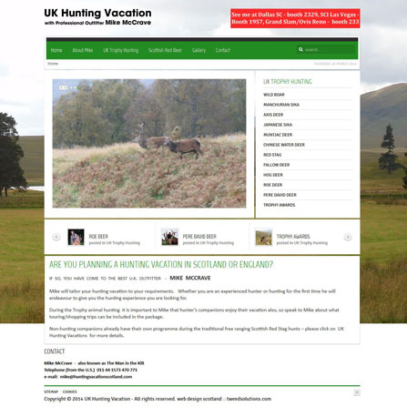 UK Hunting Vacations